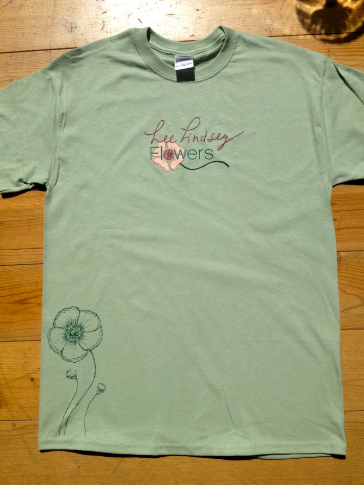 green-t-shirt-canada-music-indie-alternative-flowers